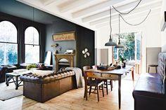 Rustic Contemporary Interior Design   Nautical Handcrafted Decor Blog