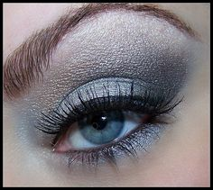 Four tips how to apply dramatic eye make up for blue eyes | Beauty, Makeup