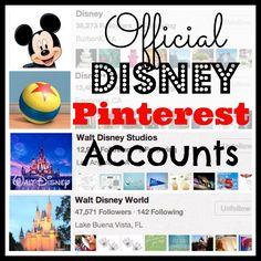 23 Official Disney Pinterest Accounts: Ready, Set, Pin!