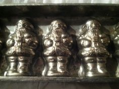 """Anton Reiche Germany Santa Clause Mold 11 Santas 16.5"""" long #34 Made in Germany"""