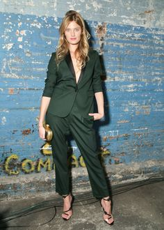 Constance Jablonski The Visionary World of Vogue Italia Exhibition Opening Night Presented by Peroni Nastro Azzurro  Photo: BFA NYC