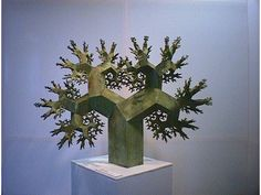 fractal tree sculpture