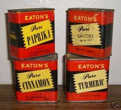 Vintage Tins by Wicked Stella, via Flickr