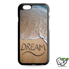 Dream Quotes On The Beach iPhone 6 Case | iPhone 6S Case