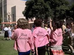 pink ladies grease - perfect halloween costume  inspiration. great for a group of friends
