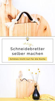 DIY Küchen-Deko: Holz-Küchenbretter selber machen   Schneidebrett sägen - So geht's   Filizity.com  DIY-Blog aus dem Rheinland