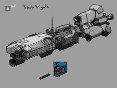 Somtaaw Torpedo Frigate by Norsehound.deviantart.com on @deviantART
