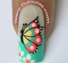 Manicure Nail Designs, Nail Manicure, Nail Art Designs, Spring Nails, Summer Nails, Finger Nail Art, Hair And Makeup Tips, Nails Inspiration, Hair Beauty