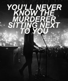 Heathens // Twenty One Pilots | If you haven\'t already heard it I would recommend looking it up and listening to it because it\'s amazing! |