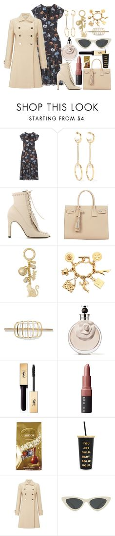 """Thursdays Be Like This!"" by pulseofthematter ❤ liked on Polyvore featuring Markus Lupfer, Chloé, Sergio Rossi, Yves Saint Laurent, MICHAEL Michael Kors, Chanel, Elizabeth and James, Valentino, Bobbi Brown Cosmetics and Lindt"