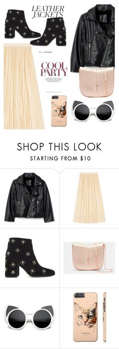 """""""Wild Things💗"""" by candy-n-k ❤ liked on Polyvore featuring Gucci, Senso, Ted Baker and Kitty Kat"""
