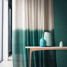 Incredible Useful Tips: Nautical Shower Curtains layered curtains ideas.Farmhouse Curtains Burlap hanging curtains with tie backs.Curtains And Blinds Pictures. Dip Dye Curtains, Ombre Curtains, Drop Cloth Curtains, Lace Curtains, Hanging Curtains, Curtains With Blinds, Colorful Curtains, Linen Curtain, Brown Curtains