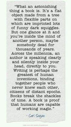 Books span time....