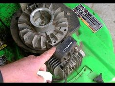 How To Diagnose An Ignition Module Without Any Special Tools Lawn Mower Maintenance, Lawn Mower Repair, Chainsaw Repair, Lawn Equipment, Mechanic Tools, Engine Repair, Small Engine, Lawn Care, Home Repair