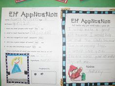 persuasive writing (application to be one of Santa's elves)