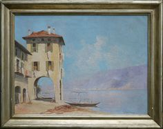Iras Baldessari - Lago di Como circa) - x Italian Paintings, Art, Craft Art, Kunst
