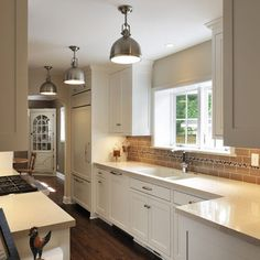 galley kitchen track lighting design ideas pictures remodel and
