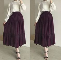 Edgy Outfits, Simple Outfits, Classy Outfits, Fashion Outfits, Modest Dresses, Modest Outfits, Muslim Fashion, Modest Fashion, Ladies Day Dresses