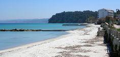 Κalithea beach in Κassandra #Ηalkidiki #Greece
