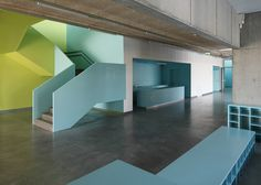 Music and Art School, Saldus, Latvia - by Made  Color idea