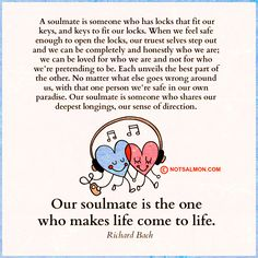 Looking for your soulmate? Click image to get tools to help you find and keep happy, safe-feeling love! @notsalmon