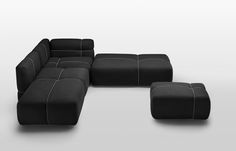 Modular sofa with removable cover PACKAGE Modular Couch, Modular Furniture, Sofa Furniture, Sofa Design, Canapé Design, Cover Design, Sofa Bench, Sofa Set, Furniture Packages