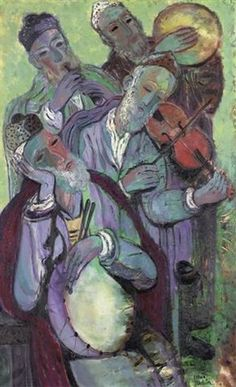 View Musicians of Safed by Reuven Rubin on artnet. Browse upcoming and past auction lots by Reuven Rubin. Visual Aids, Jewish Art, Art Studies, View Image, Oil On Canvas, Artsy, Watercolor, Violin, Musicians