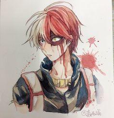Boku no Hero Academia || Todoroki Shouto (Dibujo/Drawing)