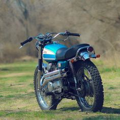 If you acquired a vintage Honda CL 200, unspoiled yet barely running, would you restore or customize? Dan Mantyla has struck the perfect balance.