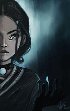 Katara - Avatar: The Last Airbender (art not mine) Korra Avatar, Team Avatar, Arte Ninja, Avatar The Last Airbender Art, Avatar Series, How To Make Drawing, Animation, Legend Of Korra, Fanfiction
