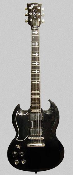 Tony Iommi | Gibson Custom SG (made in 1997).