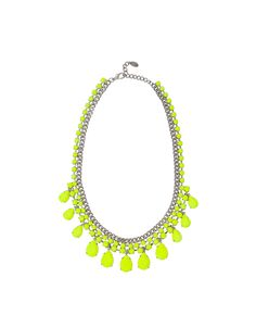 STONE NECKLACE WITH NEON TOUCHES - Accessories - Accessories - Woman - ZARA Romania