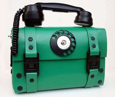 Steampunk Telephone #Handbags - This Telephone Bag Will Help Carry you Through the Day (GALLERY)
