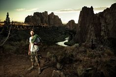 Photo by Benjamin Reed-  Rocking Smith: The Mecca of Rock Climbing   Smith Rock, Terrebonne OR