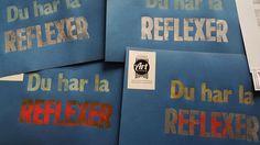 Du har väl reflexer – Letterpress på Rundqvist & Co