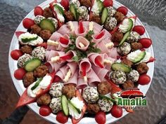DSCF0221_1073 Diet Salad Recipes, Healthy Recipes, Entree Festive, Fodmap, Appetizer Recipes, Appetizers, Clean Eating Diet, Food Decoration, Food Platters