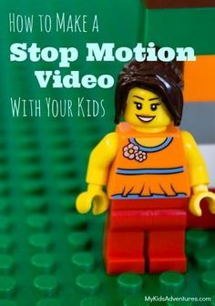 to Make a Stop Motion Video With Your Kids, LEGO Style Are your kids bored this summer? Make a low- to no-cost stop motion movie with your family.Are your kids bored this summer? Make a low- to no-cost stop motion movie with your family. Stem Projects, Lego Projects, Projects For Kids, Crafts For Kids, Diy Crafts, Project Based Learning, Kids Learning, Legos, Lego Lego
