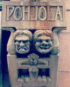 Pohjola Insurance Building #Helsinki #Finland #Turismo #myhelsinki  Edificio construido en 1901 por el arquitecto Eliel Saarinen  Pohjola se refiere a la mítica tierra descrita en el poema épico de Kalevala