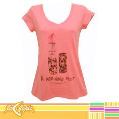 #Camiseta #estampada para #mujer en variedad de estilos y colores #chicas #moda #casual #juvenil 2do.Piso #Damas