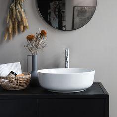 Terrazzo, Vanity Units, Vanity Cabinet, Solid Wood Furniture, New Furniture, Bathroom Furniture, Bathroom Interior, Wood Vanity, Metal Mirror