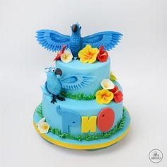 Торт «Рио» Rio Birthday Cake, Rio Cake, Rio Party, Saving Tips, Babe, Desserts, Food, Pastries, Food Cakes