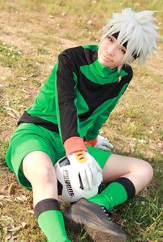 Inazuma Eleven School Soccer Uniform Cosplay Costumes