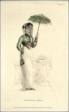 Promenade Dress; Ackermans Repository July, 1811