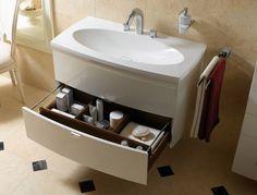 Совет дня 💡 Чтобы избежать беспорядка в шкафчиках вашего комода, их изначально следует заказывать с отделами для необходимых вещей. 😉 Так вы сможете рассортировать их по принадлежностям и не копаться подолгу в поисках нужной вам вещицы. #ванная #сантехника 🏃Больше ассортимента тут: http://santehnika-tut.ru/mebel-dlya-vannoj/