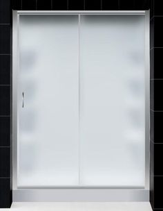 DreamLine INFINITY Frosted Glass Shower Door, AMAZON Base and BackWall Kit - 32 x 60 Right Drain Base by DreamLine. $1308.95. Combine DreamLine universal shower wall panels with a tub replacement AMAZON shower base and a large sliding INFINITY shower door for a complete shower kit. This kit is perfect for a bathroom remodeling or tub-to-shower conversion project and is designed to be installed over existing solid surfaces.