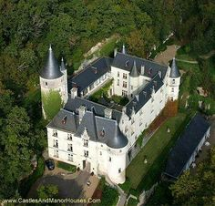 Château de Chissay Place Paul Boncour, 41400 Chissay-en-Touraine, Loir-et-Cher FRANCE   Situated between Montrichard and Chenonceaux, this former fortified castle was built under Charles the 7th for Pierre Bérard, chancellor of France. In 1543 Bérard sold the estate to the king's treasurer and superintendent of finance, for £16 690. The castle remained in the family, then passed into the hands of Duke of Choiseul until the eve of the revolution.