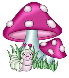 mushrooms clip art and patterns rh pinterest com mushroom clip art images clipart mushrooms free
