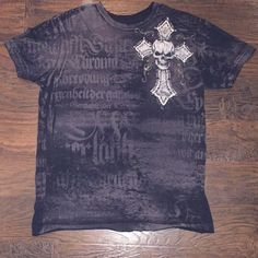 Authentic affliction mens t shirt Authentic affliction mens t shirt. 100% cotton. Perfect condition. Smoke free home. Affliction Tops Tees - Short Sleeve