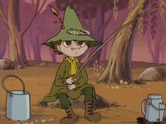 Snufkin and the dragon