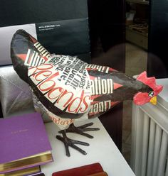 Paper mache Rooster...